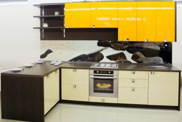 Желтая кухня Солнечный берег